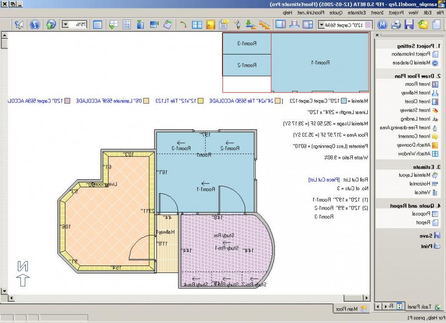 Tile photo software for Tile floor layout tool