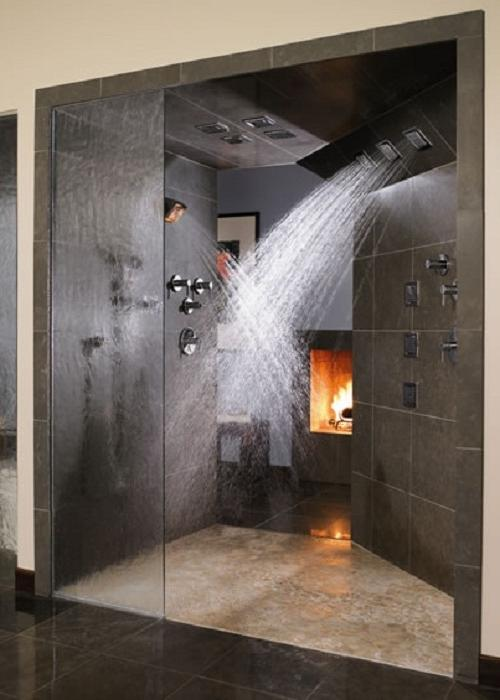 Walk In Shower Tile Designs Photos