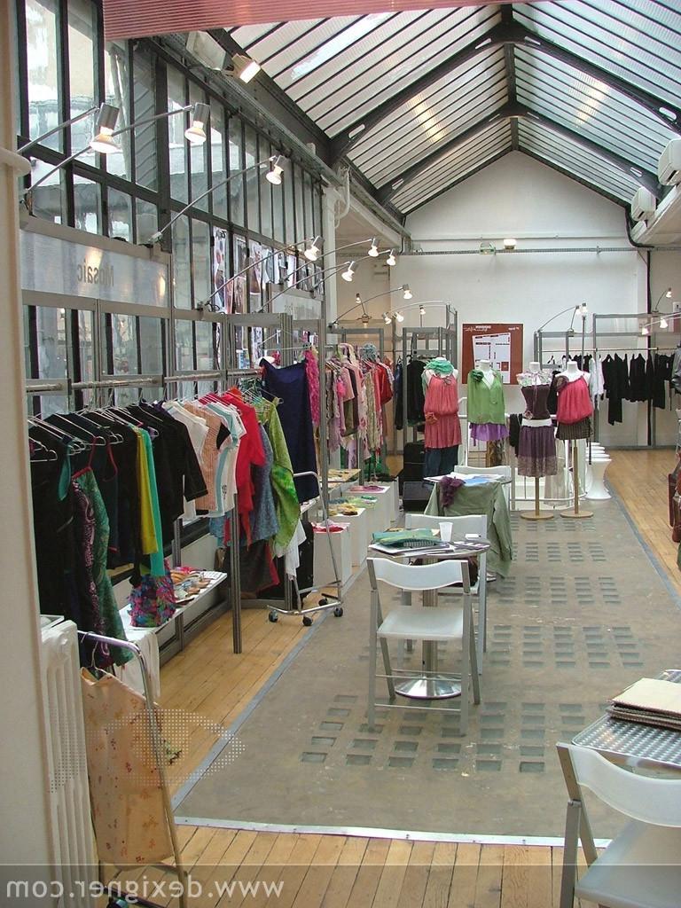 Garments Showroom Interior Design Photos Catalog