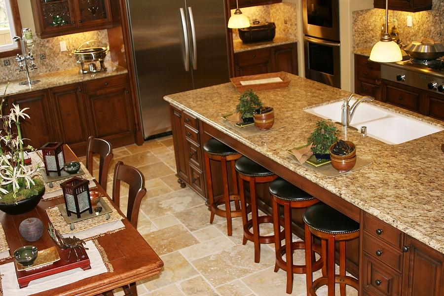 counter custom granite kitchen photo top