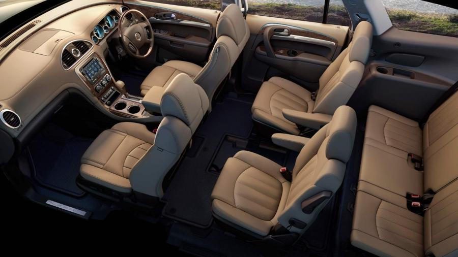 6 Passenger Suv >> 2011 buick enclave interior photos