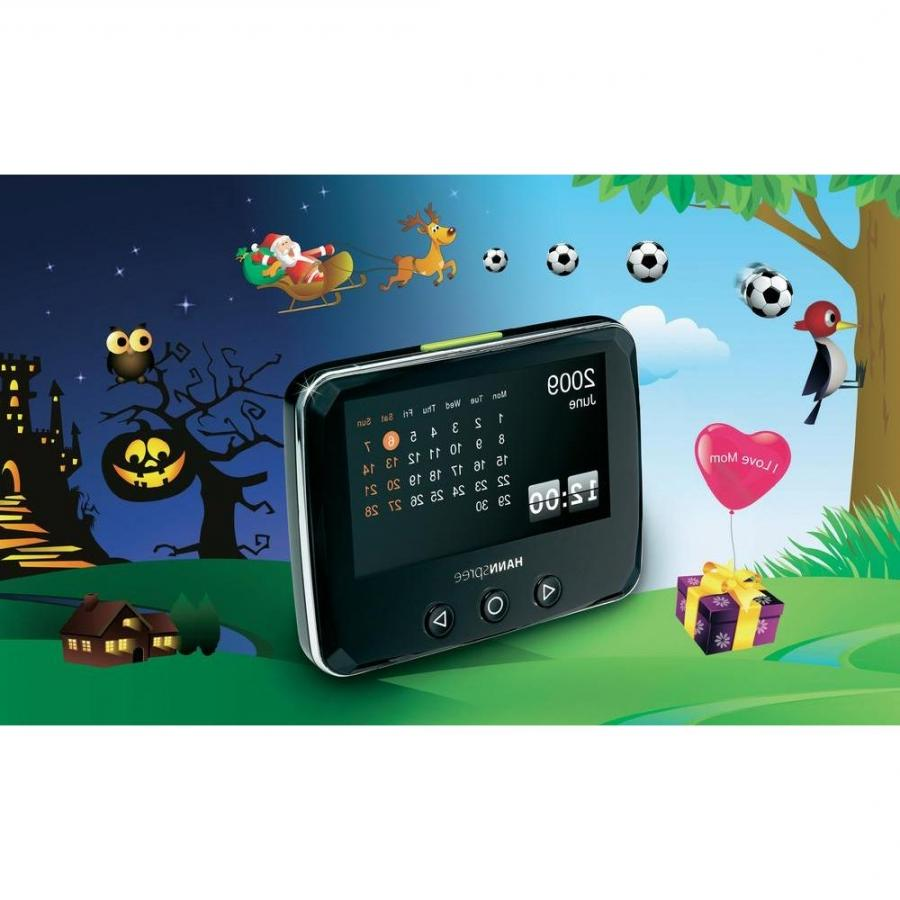 Hannspree 4.3 photo alarm clock radio