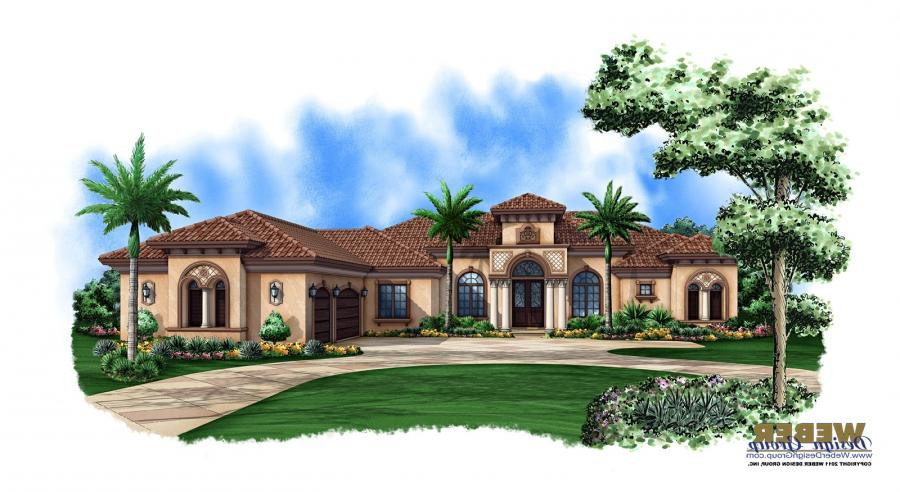 Luxury mediterranean house plans with photos Luxury mediterranean house plans