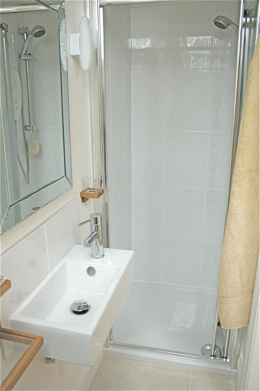 Small bathroom shower photo for Bathroom design ltd