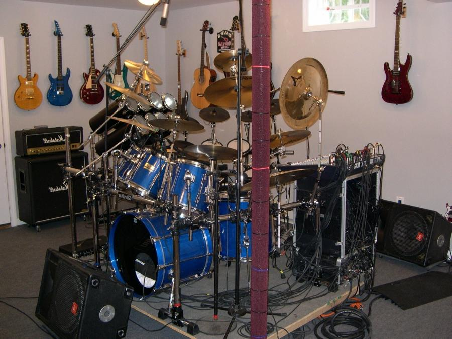Band Room - Drums, Stage Right