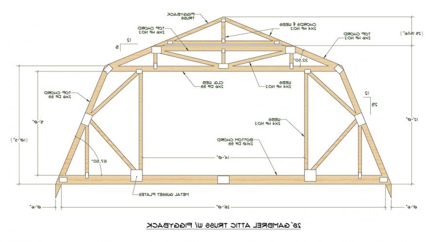 Gambrel Roof Architecture Photos