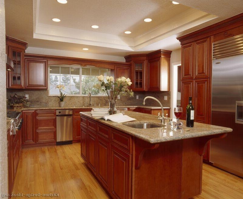 cherry cabinet kitchen photos cherry kitchen cabinet photos Hickory Kitchen Cabinets