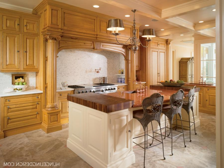 A Luxury Kitchen with Two Islands