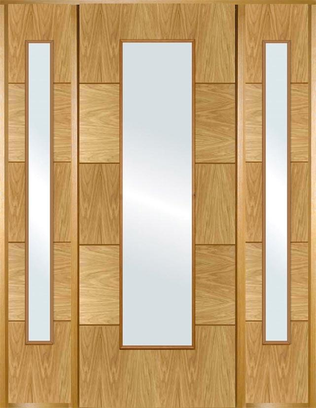 Modern Door Design Modern Entrance Doors Made From White Oak