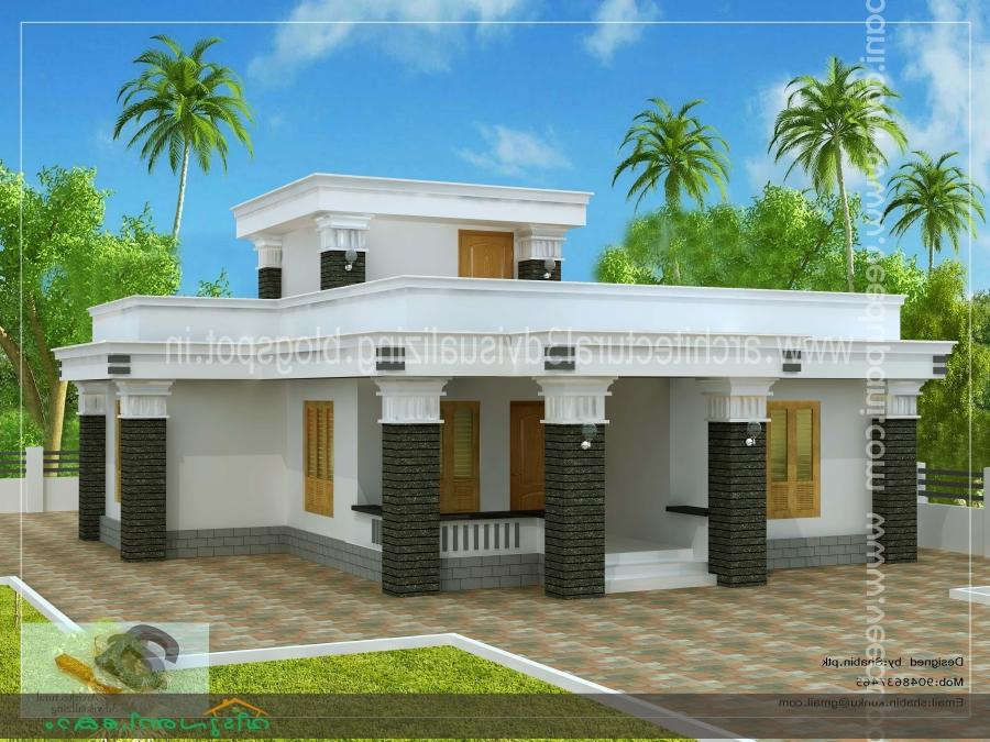 Kerala low cost house photos for Low cost kerala veedu plans