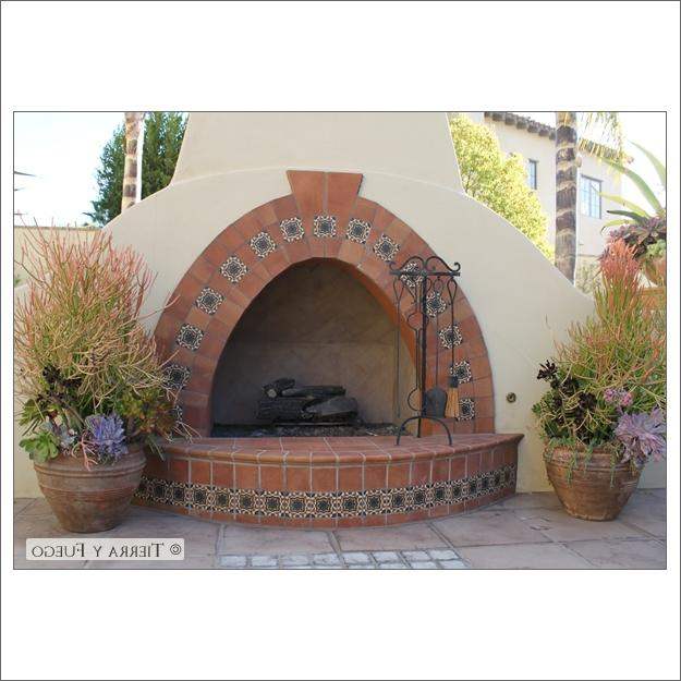 Spanish fireplace photos for Spanish outdoor fireplace