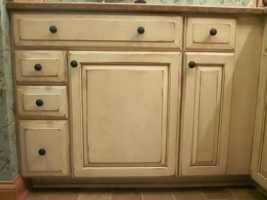 Antique Glazed Cabinets Photos