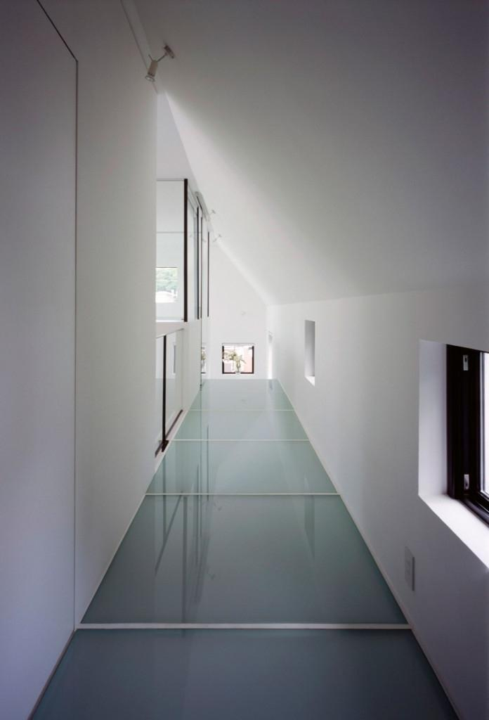Fair hallway in narrow space inside the kre residence by no.555...