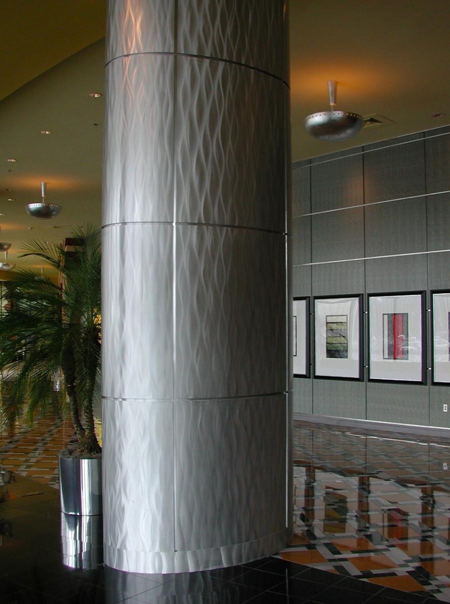 decorative columns interior
