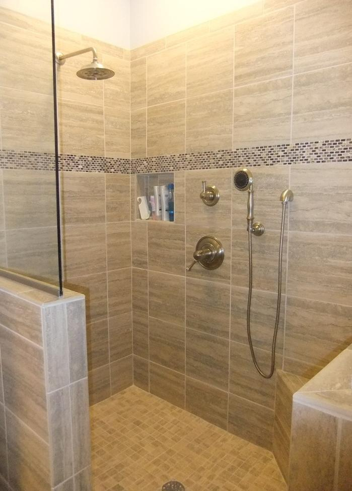 Walk In Showers Without Doors Photos