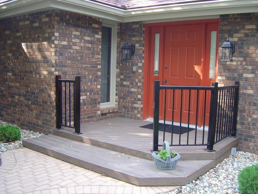 TimberTech Earthwood Front Porch, Johnston