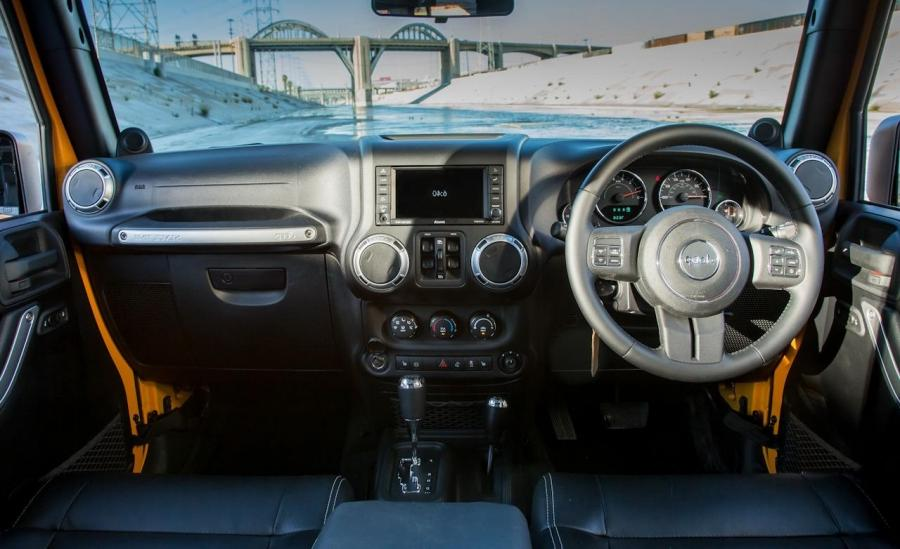 jeep wrangler unlimited interior photos