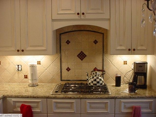 Kitchen back splashes photos for Replacing backsplash