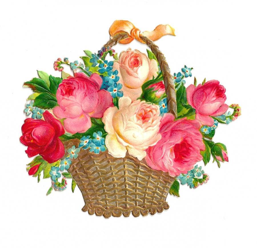 Красивые картинки цветов и букетов нарисованных