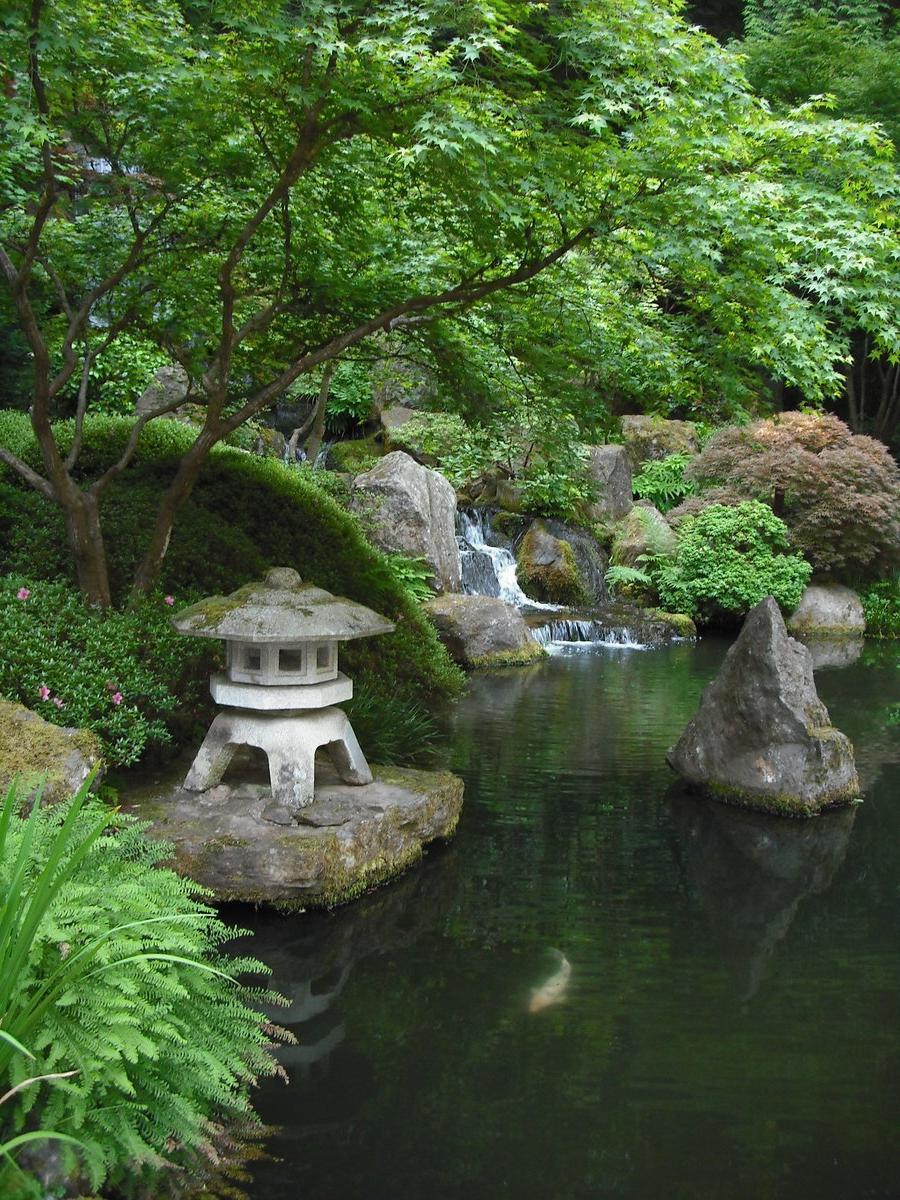 Meditation Garden Photo