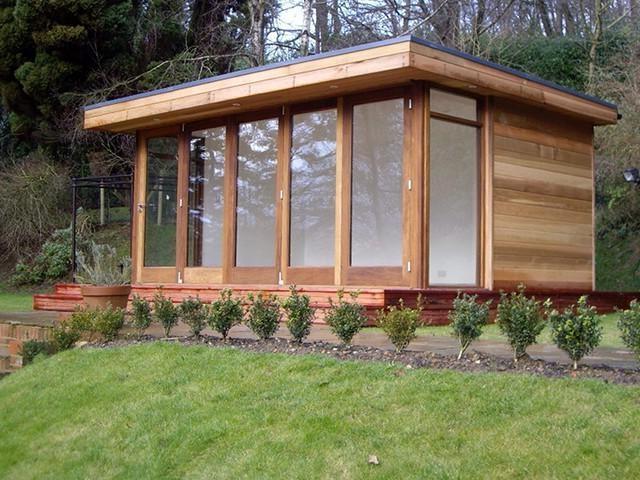 Garden rooms photos for Bespoke garden office