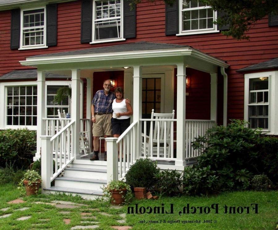 Front porch portico photos for Portico porch designs