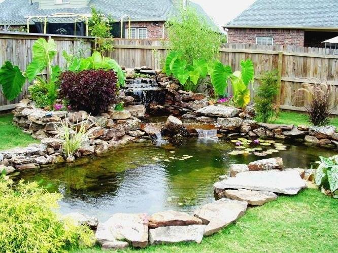 Ponds in gardens photos for Fish ponds sydney