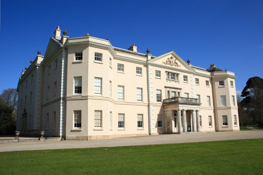 Saltram House today: the exterior is virtually unaltered