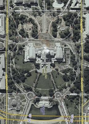 Aerial Photo Of White House Owl