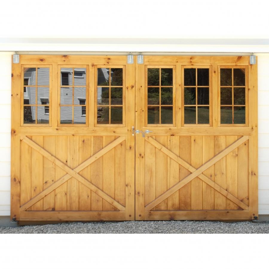 Sliding glass barn door diy sliding glass door cabinet for Sliding barn doors for patio