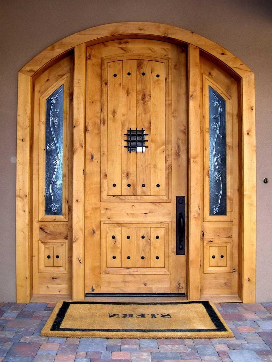 Двери в свой дом своими руками
