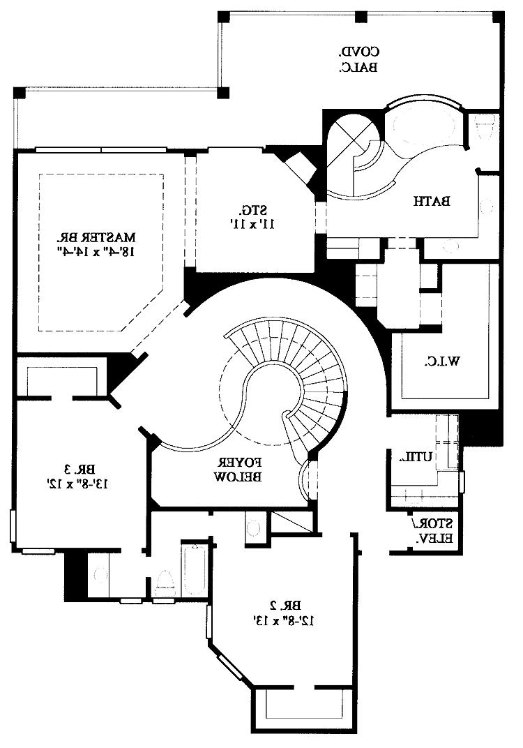 New American House Plans Photos