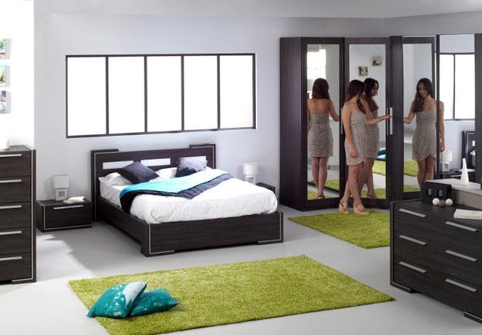 Decoration chambre coucher en photo for Decor chambre coucher