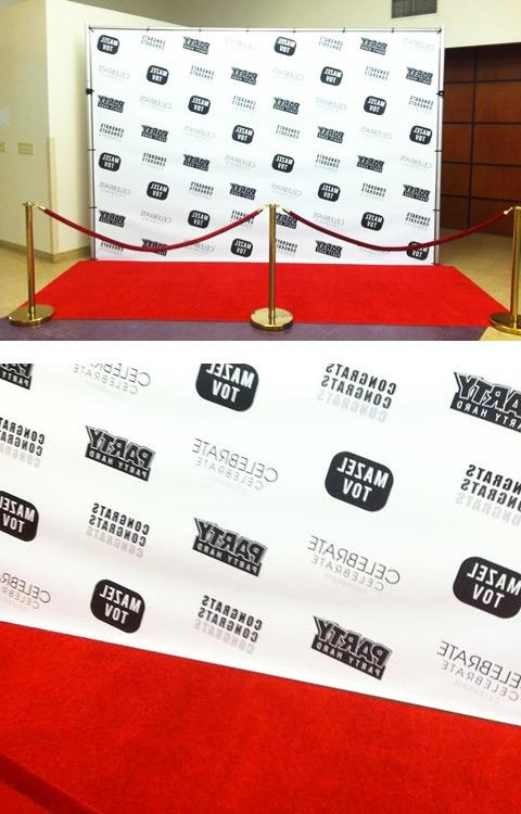 Diy Red Carpet Photo Backdrop