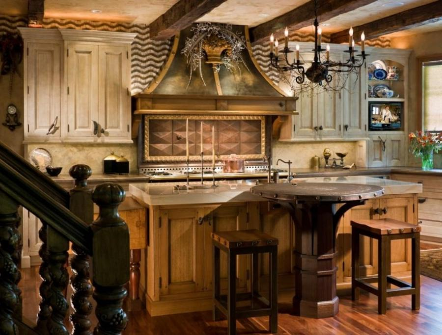 French country kitchen designs photos for French kitchen design