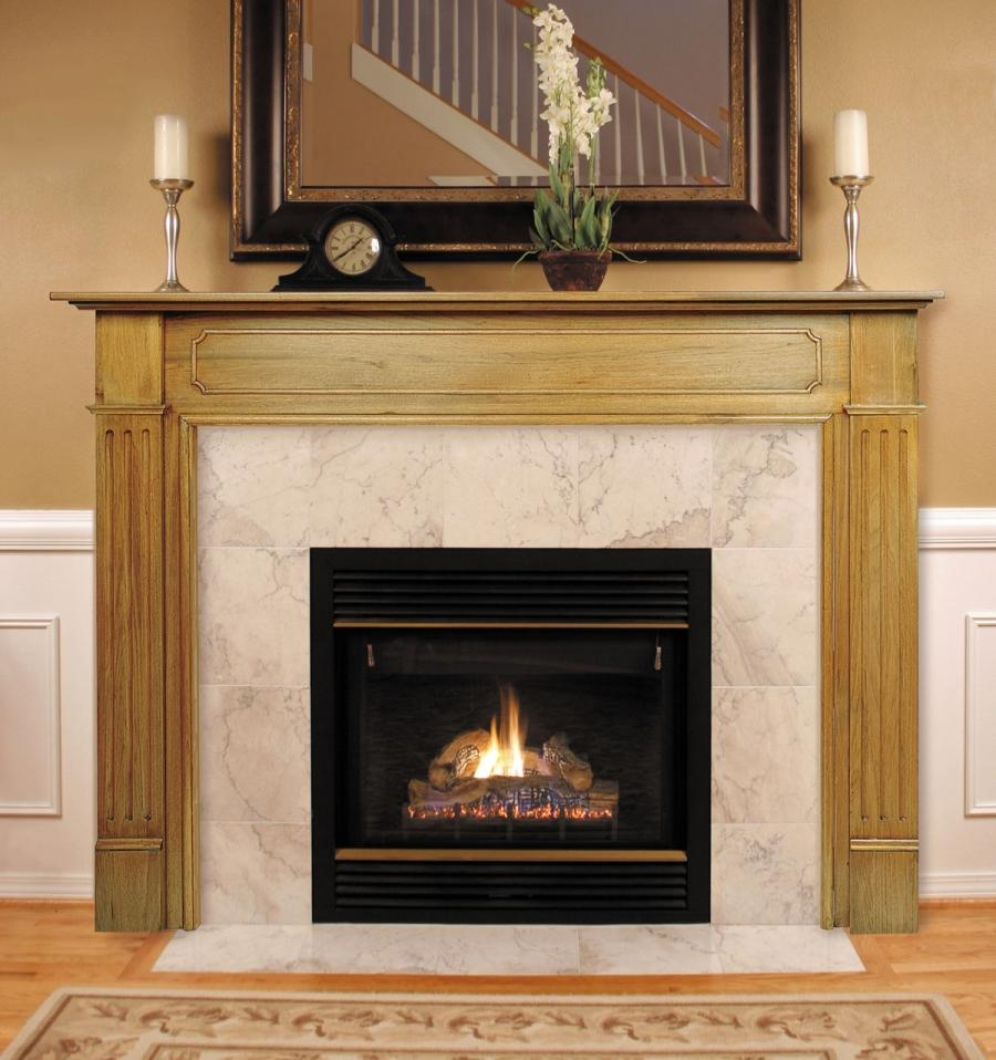 Fireplace mantel photo gallery for Building an indoor fireplace