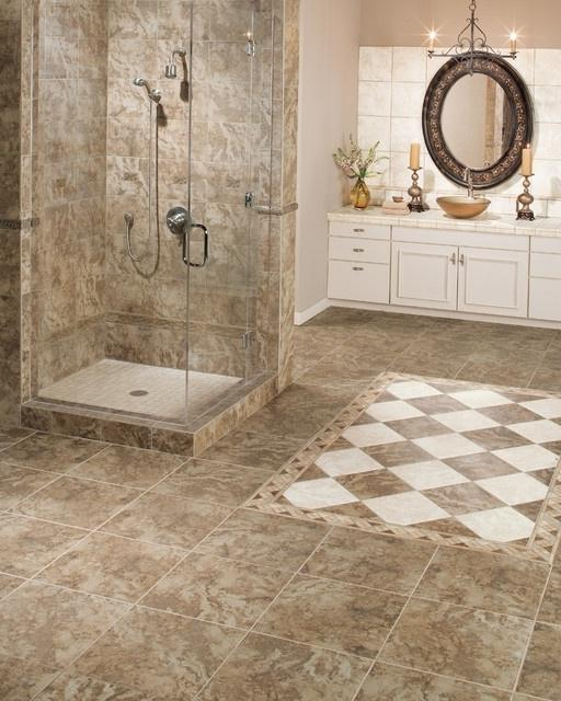 Porcelain vs ceramic tile for bathroom