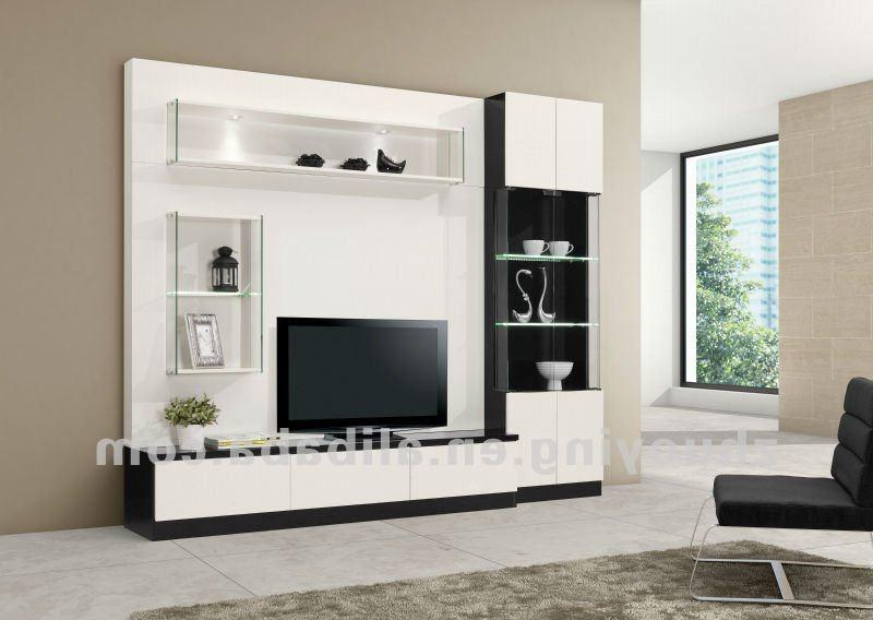 Modern wooden wall unit design furniture FA17B#, View wall unit,...