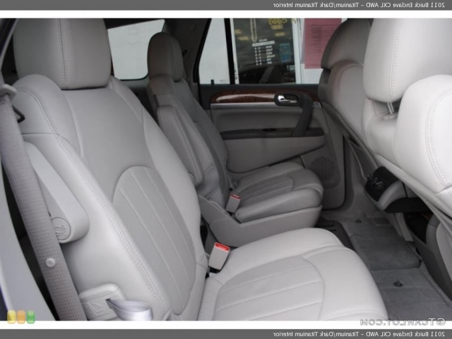 2011 Buick Enclave Interior Photos
