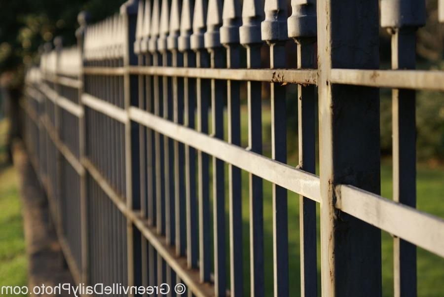While on a walk recently I took this photo of the fence at Christ...