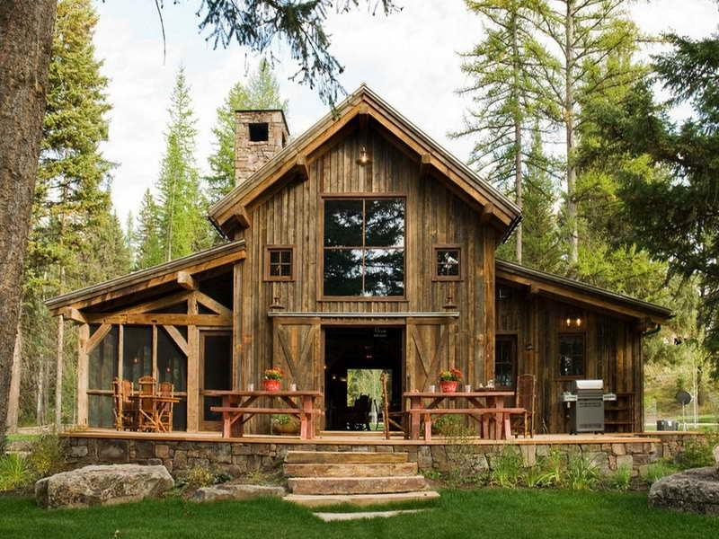 Small rustic house plans with photos Modern rustic house plans
