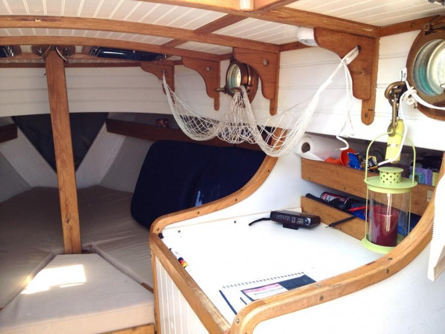 Photos of boat interiors