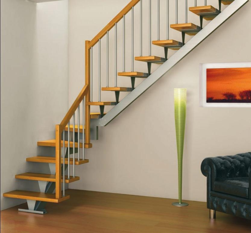 Лестница в доме с мансардой 121