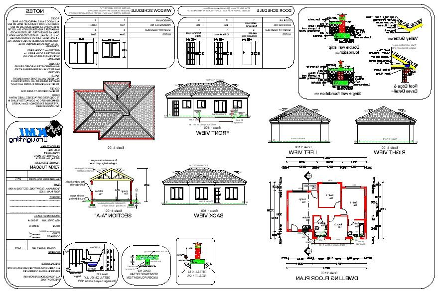 Simple house plans with photos in south africa for House plans south africa free