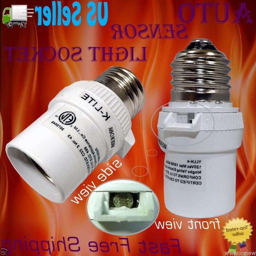 New White Dusk To Dawn Photocell Light Control Auto Sensor Light...