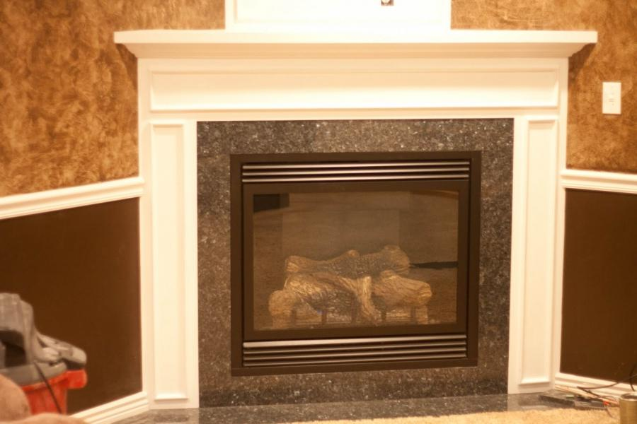 Functional Corner Fireplace Mantel Designs » Picture 7