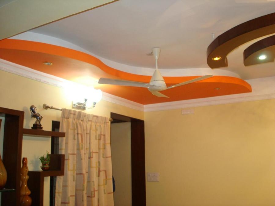 living,Bed Room,False Ceiling