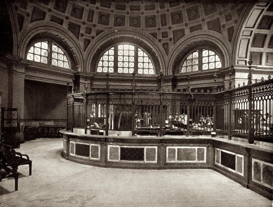 Interior Photos Of An Old Bank