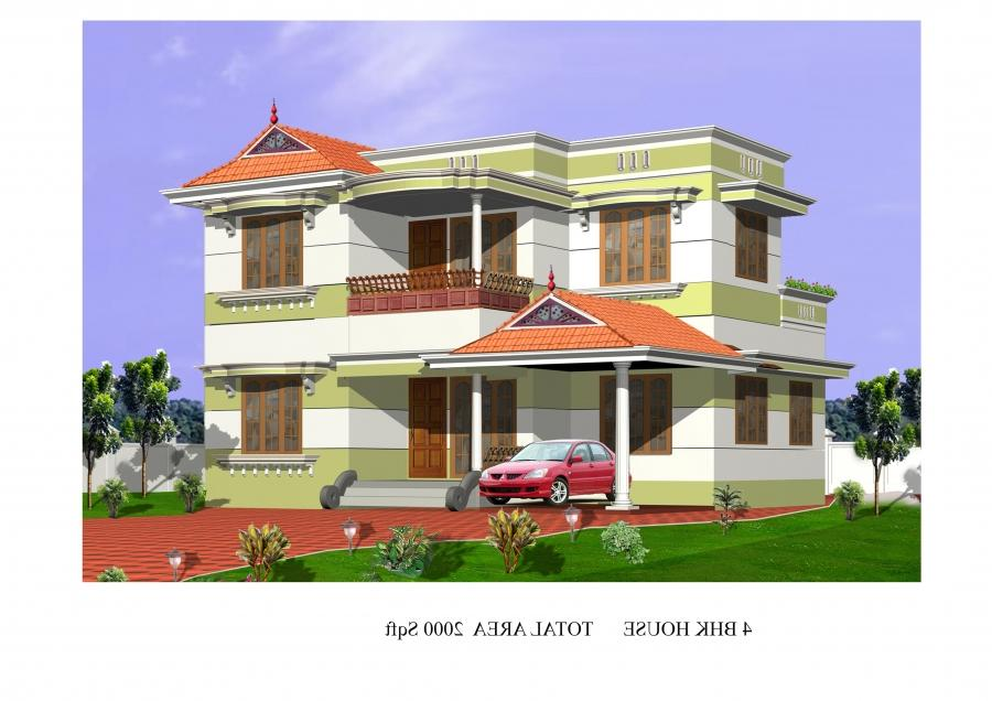 House For Sale In Thiruvananthapuram, Kerala, Ref# 1656698