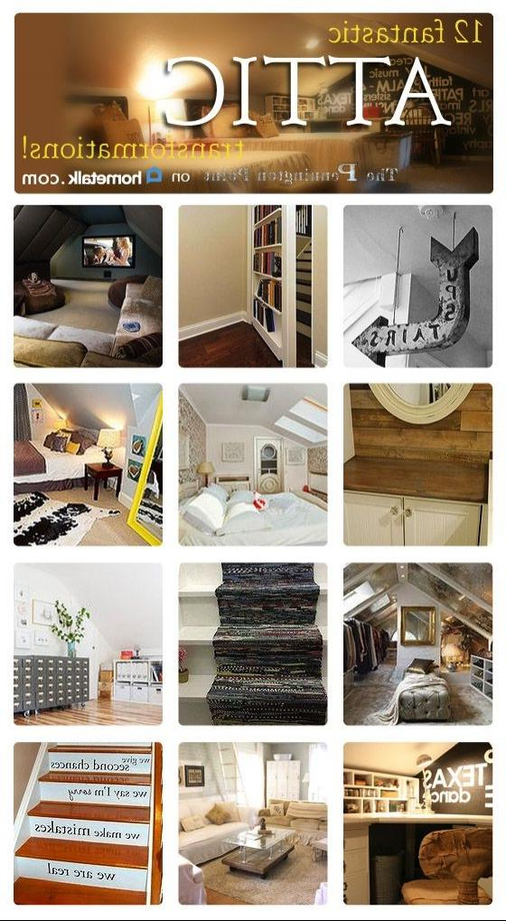 Attics arenu0026#39;t just for storage anymore--get inspired with...